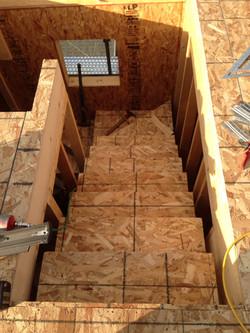 다락 올라오는 계단 설치