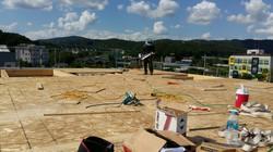 다락바닥 설치 완료!