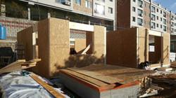 1층 외벽 완료