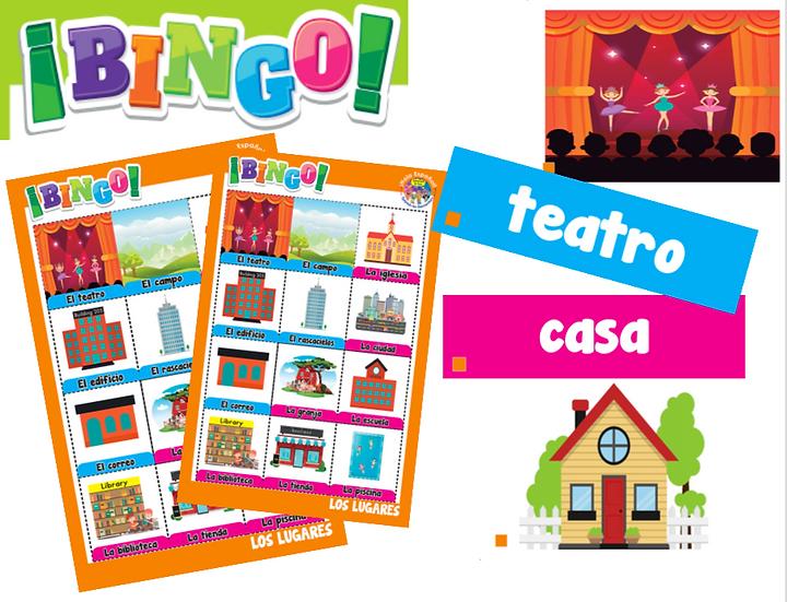 Places Digital Bingo