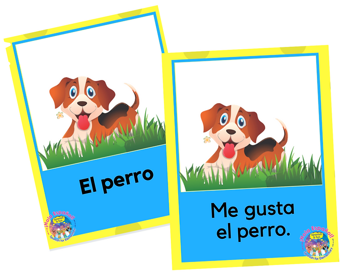 Farm Animals Digital Flashcards