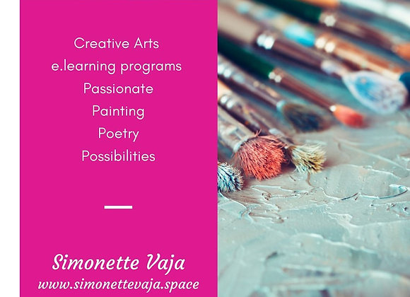 Creative Arts: Painting & Poetry online