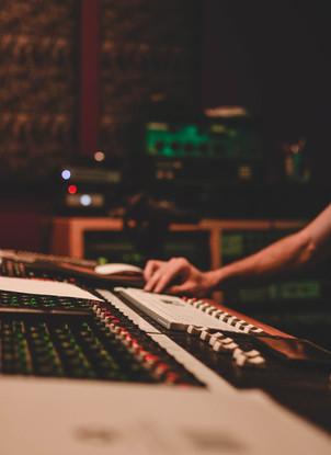 Control Board - All Access Recording Studio
