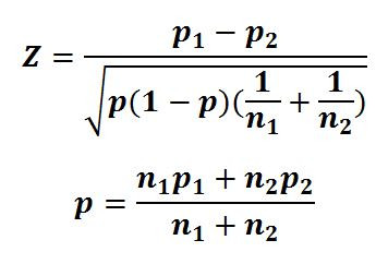 z-statistic-difference-of-two-proportions