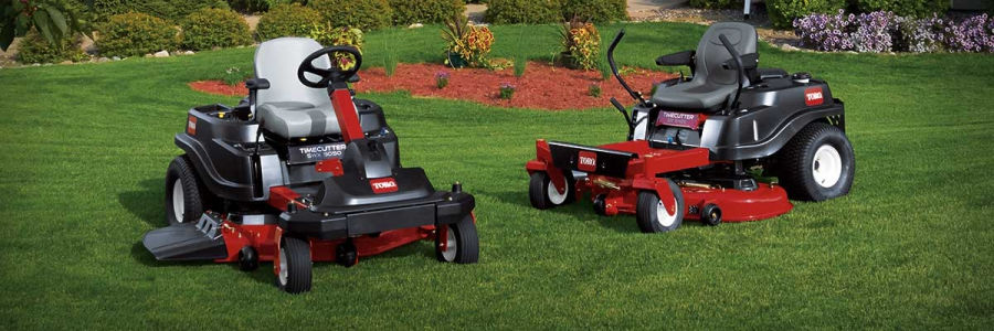 Smith's A-1 Lawn Equipment sells Toro, Bob-Cat and Country Clipper zero-turn mowers so you can show your lawn who's boss.