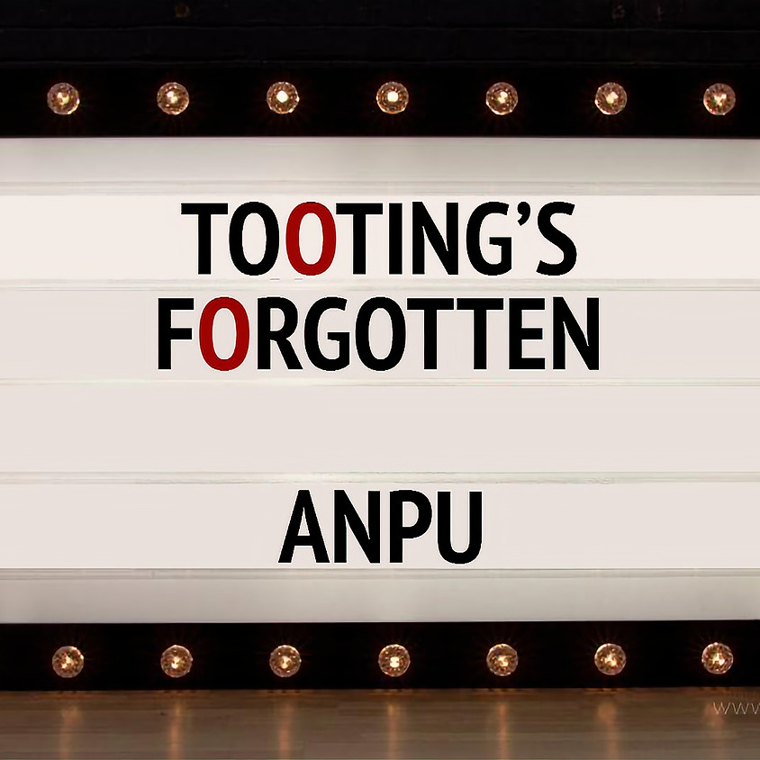 Tooting's Forgotten: Premiere - PRESS PASS