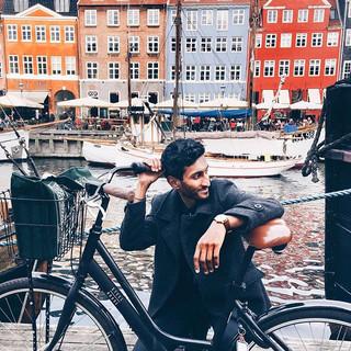 Cycling through Copenhagen was my everyt