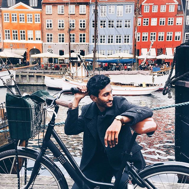 Cycling through Copenhagen was my everyt
