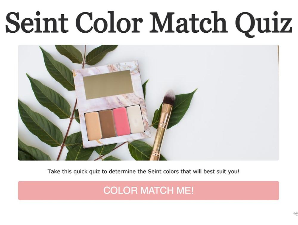 seint color match quiz