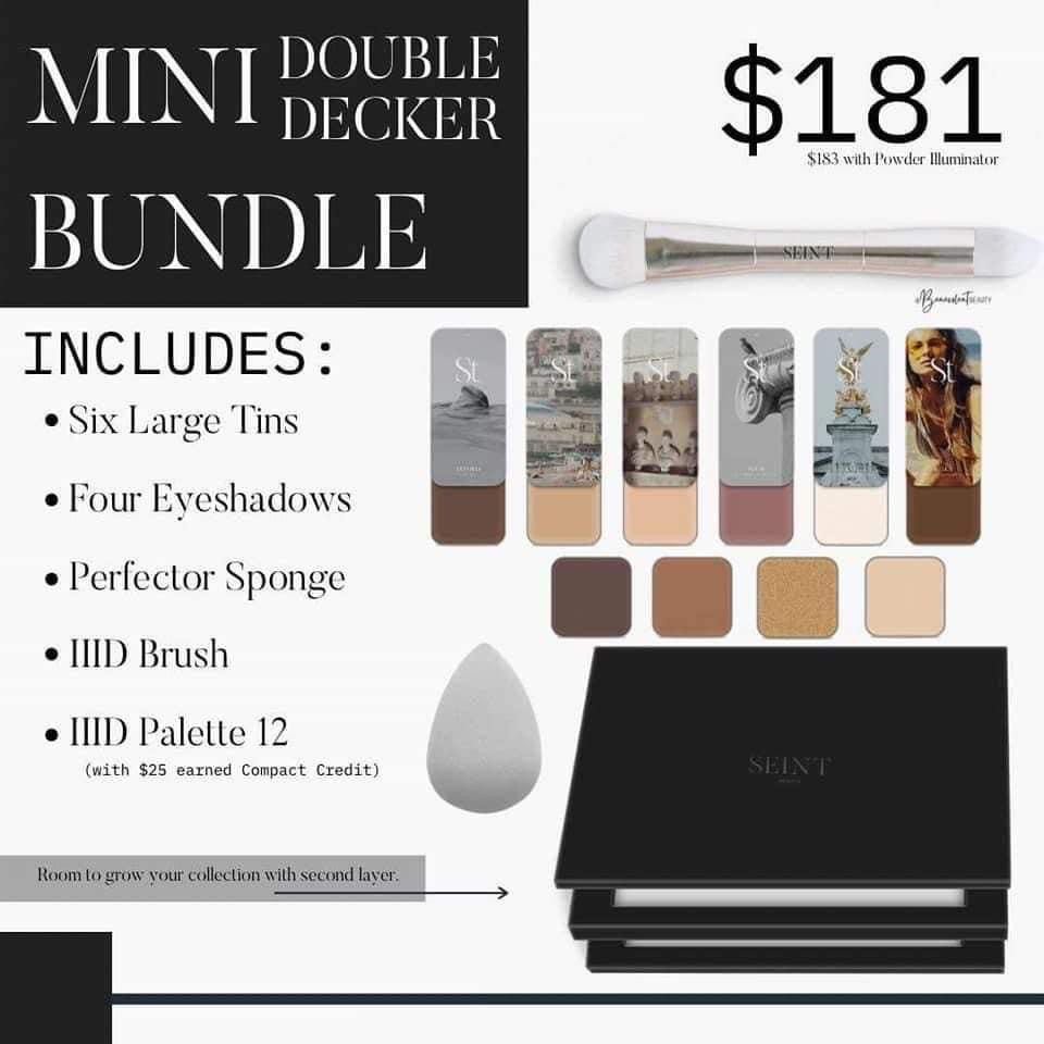 How much is Seint makeup palettes