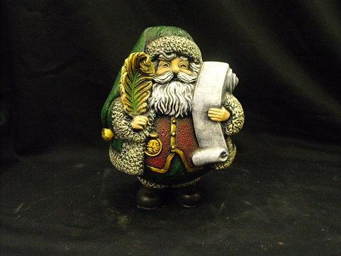 Roly-Poly Santa w/list