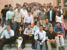 With Dr. Kalam (as a teacher) at IIM-A i