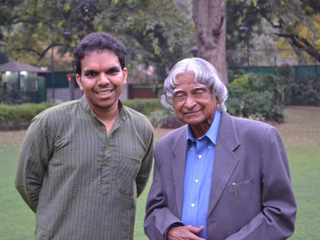 Dr Kalam and his old friend Arjuna