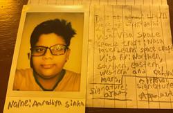 2AAR - Abhishek Sinha