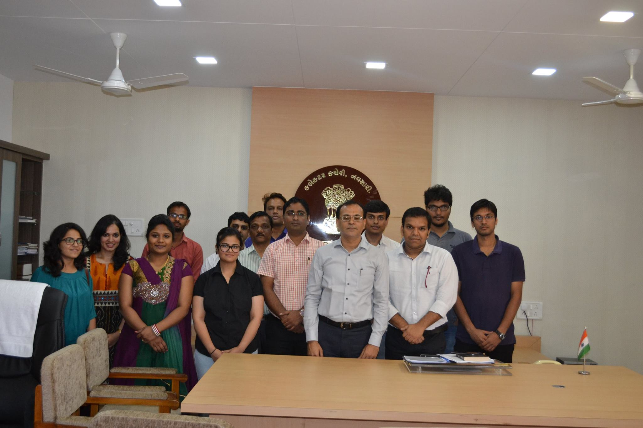 Group photo with the Shri Ravi Arora (Ce