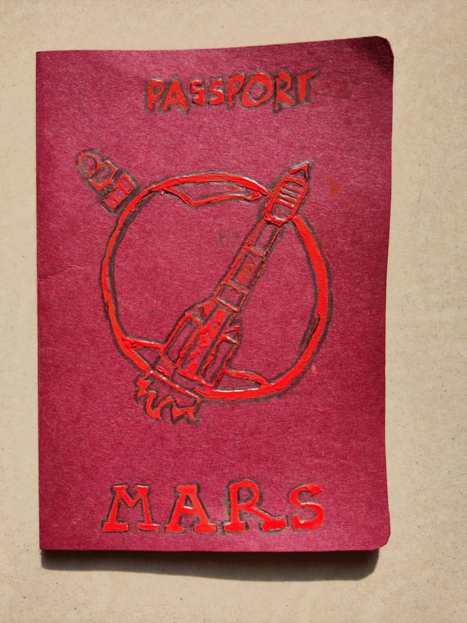 MARS PASSPORT - Naveen singh