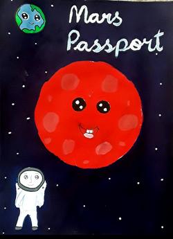 Mars passport - Aditi Venkatesh