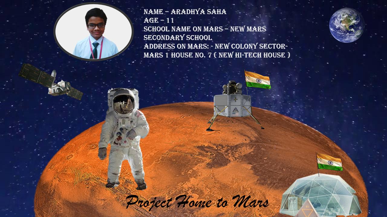 Mars passport- Aradhya Saha