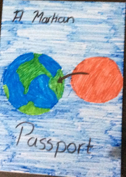 Passport for coming back on Earth from M