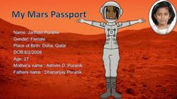 My Mars Passport - Janhavi Puranik
