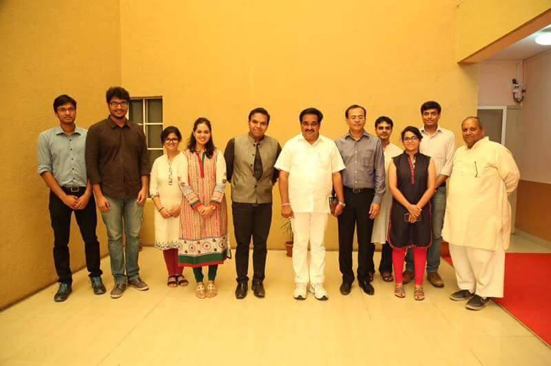 With Shri C.R