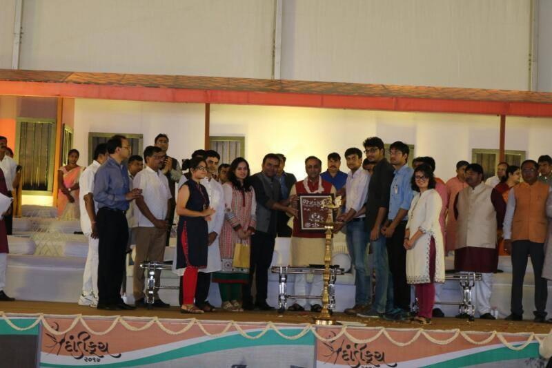 With Shri Vijay Rupani, Hon'ble Chief Mi