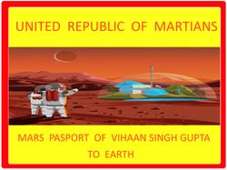 Vihaan Mars Passport - Parikshit Gupta