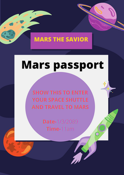 Mars passport - Chellammal G