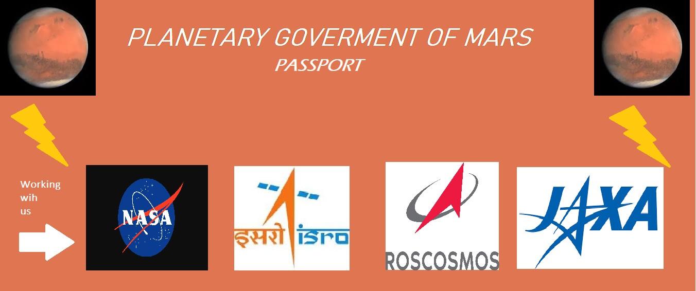 passport of mars. - kd keys