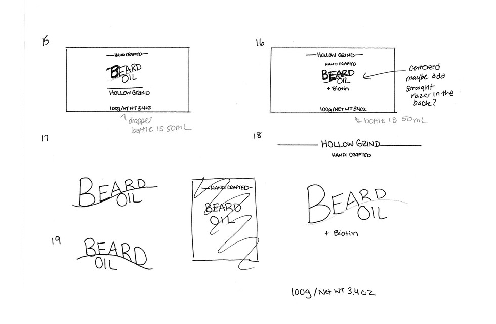 03_Sketches_Hollow Grind_Packaging Label