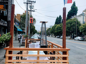 Part IV- San Francisco's Public Space During COVID-19: Curbside Cafe gets a curbside parklet