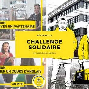 Lancement du challenge solidaire