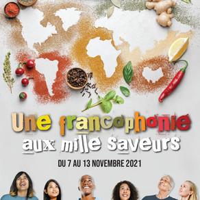 Francophonie aux 1000 saveurs : MA RECETTE PRÉFÉRÉE