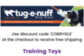 Tug-E-Nuff Training Toys