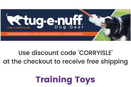 Tug-E-Nuff Training Toys