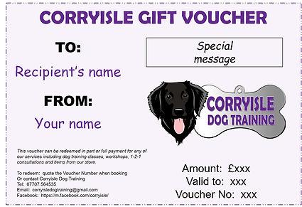 Gift Voucher - Corryisle Dog Training.jp