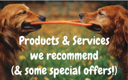Products & services we recommend (& some special off