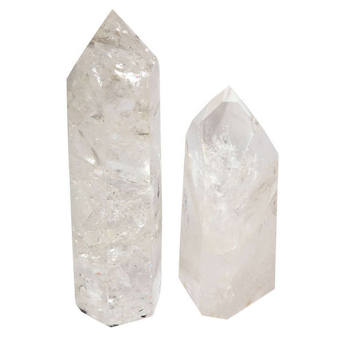 Quartz crystal points reiki infused