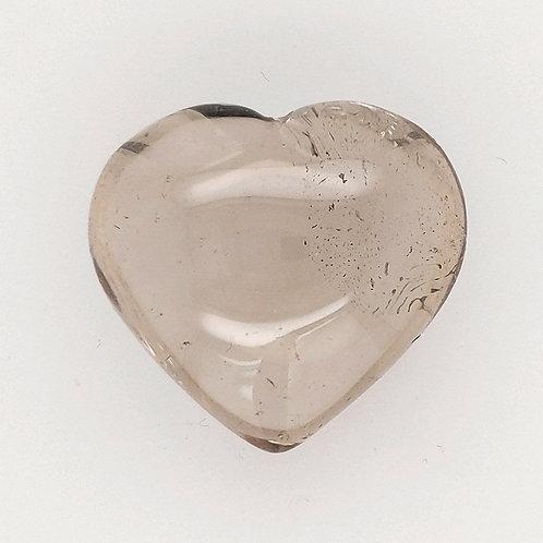 Smoky Quartz crystal heart reiki infused