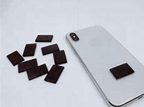 Shungite cellphone adhesive