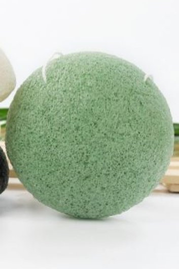 Green tea Konjac facial sponge