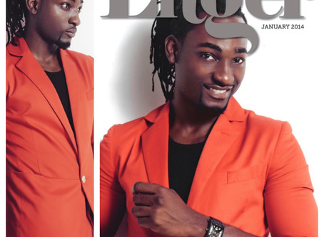 Nigerian Actor Gbenro Ajibade Covers Linger Magazine | The Era of African Thespian
