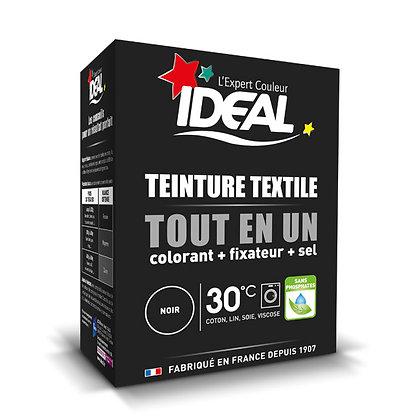 IDEAL MINI «Все в Одном» для окрашивания одежды и тканей, черная, 230 г.