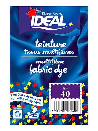 Краска для окрашивания полиамида, текстиля, шерсти и шелка, фиолетовая (ирис)