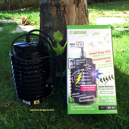 Уред капан за комари, мухи и бълхи