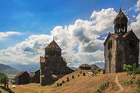 Монастырский комплекс Ахпат в Армении