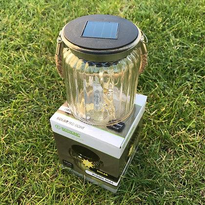 Isotronic Стъклена соларна LED лампа Прозрачен Фенер