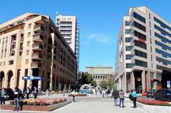 Северный проспект в Ереване