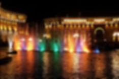 Площадь Республики и поющие фонтаны в Ереване
