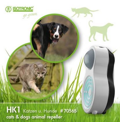 Мобилен уред с ултразвук против кучета и котки